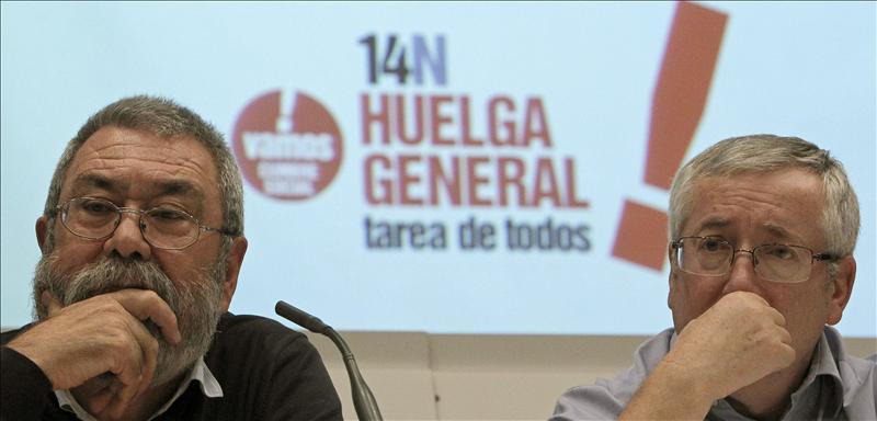 CCOO y UGT presentan en el SIMA la convocatoria de la huelga del 14N