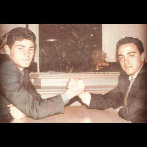 Casillas y Xavi, una amistad de más de quince años