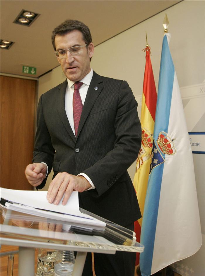Feijóo avisa a la oposición de que los gallegos dijeron «no» en las urnas «a la crispación»