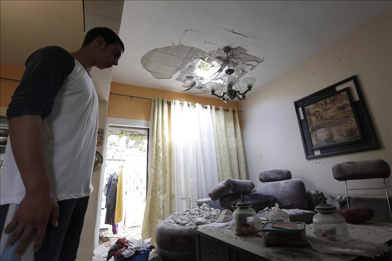 Una tregua alcanzada con la mediación egipcia rebaja la violencia en Gaza