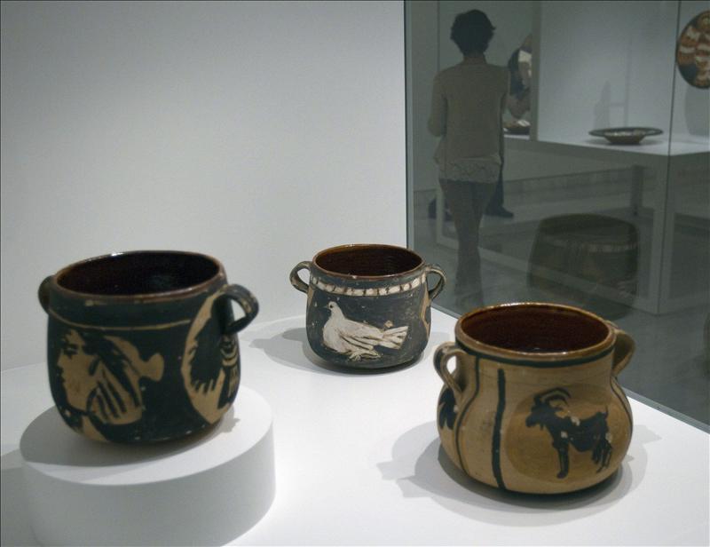 Las cerámicas que Picasso regaló a Jacqueline se iluminan de nuevo