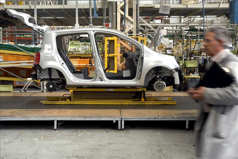 Los precios industriales bajan el 3,8 por ciento en septiembre en la tasa interanual
