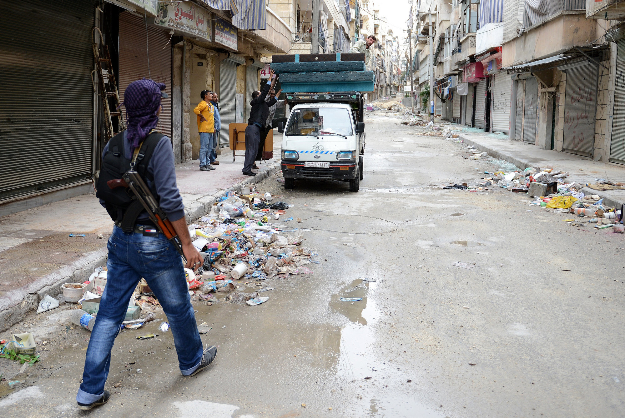 Siria comienza la tregua lamentando la muerte de más de un centenar de personas el jueves