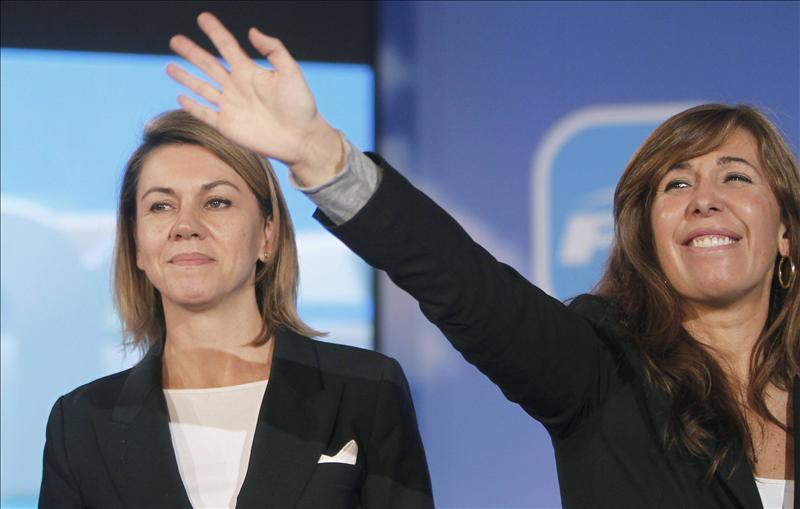 El PP congrega a su cúpula en Barcelona para la intermunicipal del partido