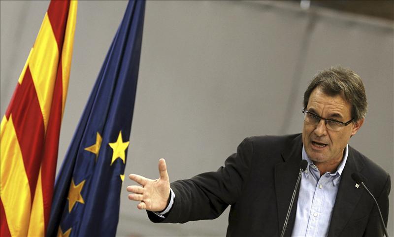 Artur Mas afirma que una Cataluña con Estado propio tendría menos presión fiscal