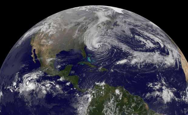 Sandy tiene el diámetro de España, si fuera un país sería el 20 más grande del mundo