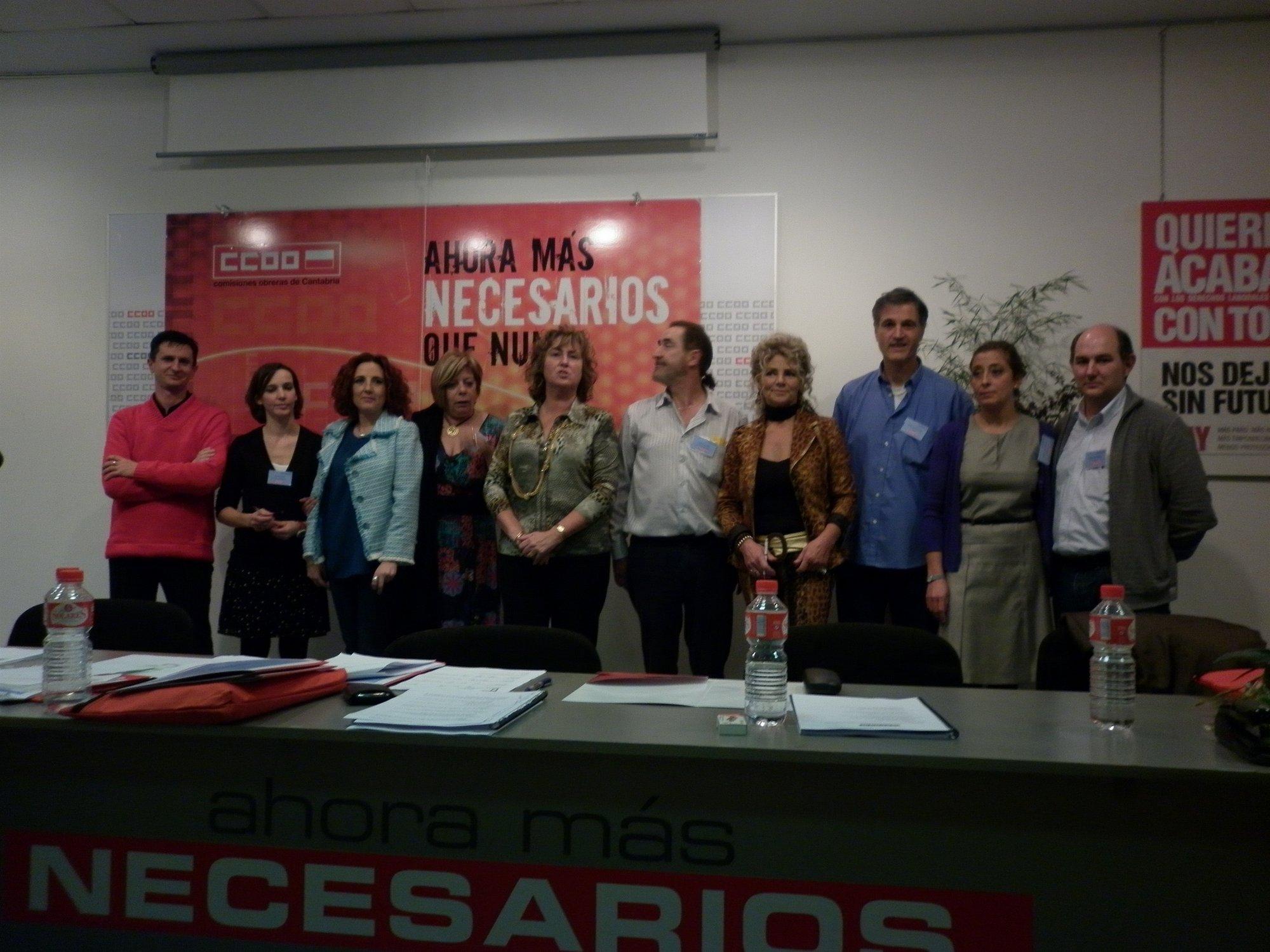 Asunción Ruiz Ontiveros, reelegida secretaria general de Sanidad de CC.OO.