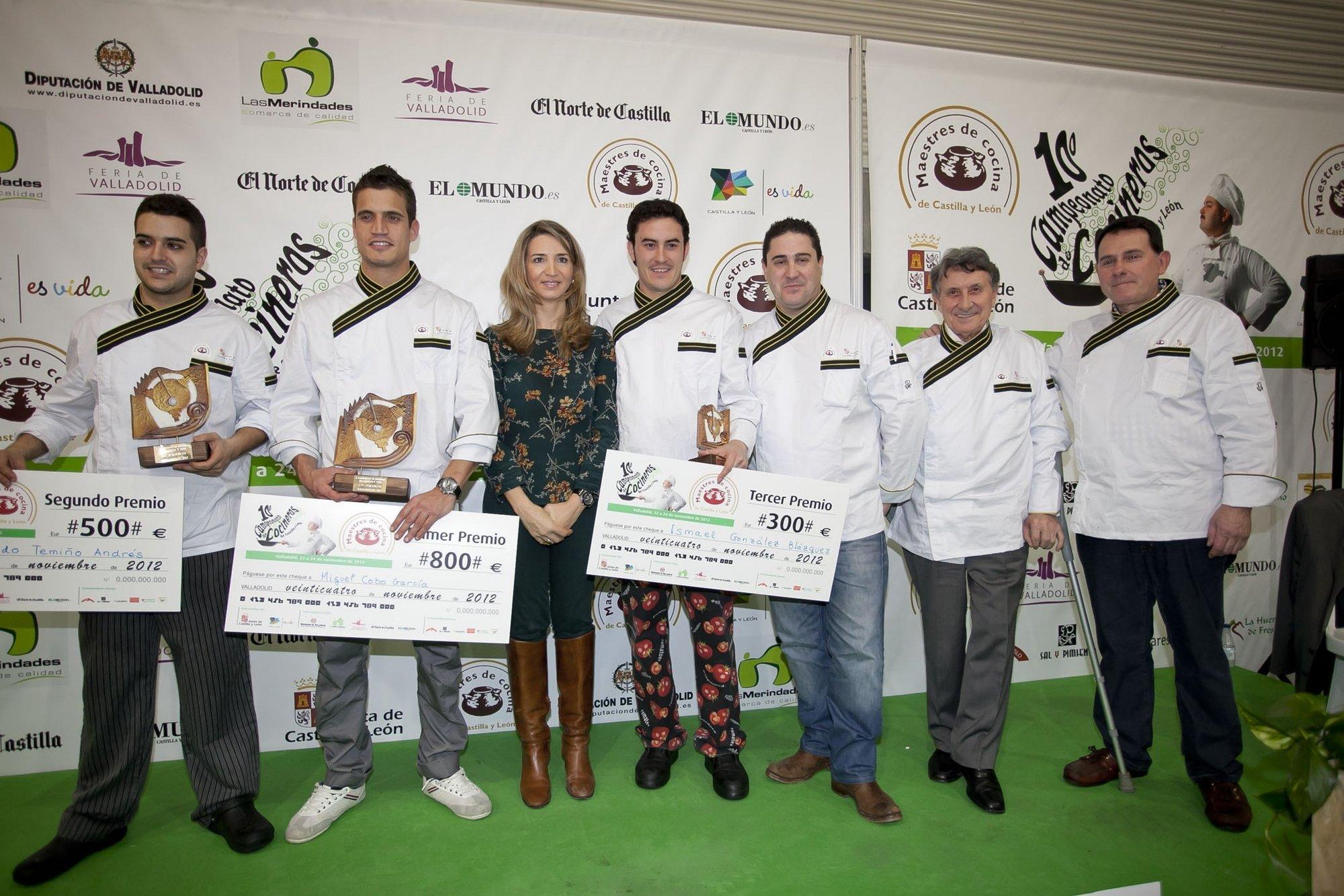 Miguel Cobo, de Briviesca (Burgos), se lleva el Concurso de Cocineros de Castilla y León