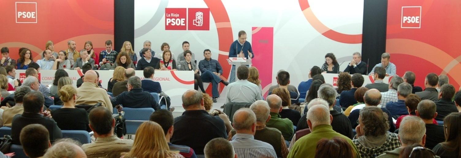 El Comité Regional del PSOE marca las líneas de trabajo «para consolidarse como alternativa progresista»
