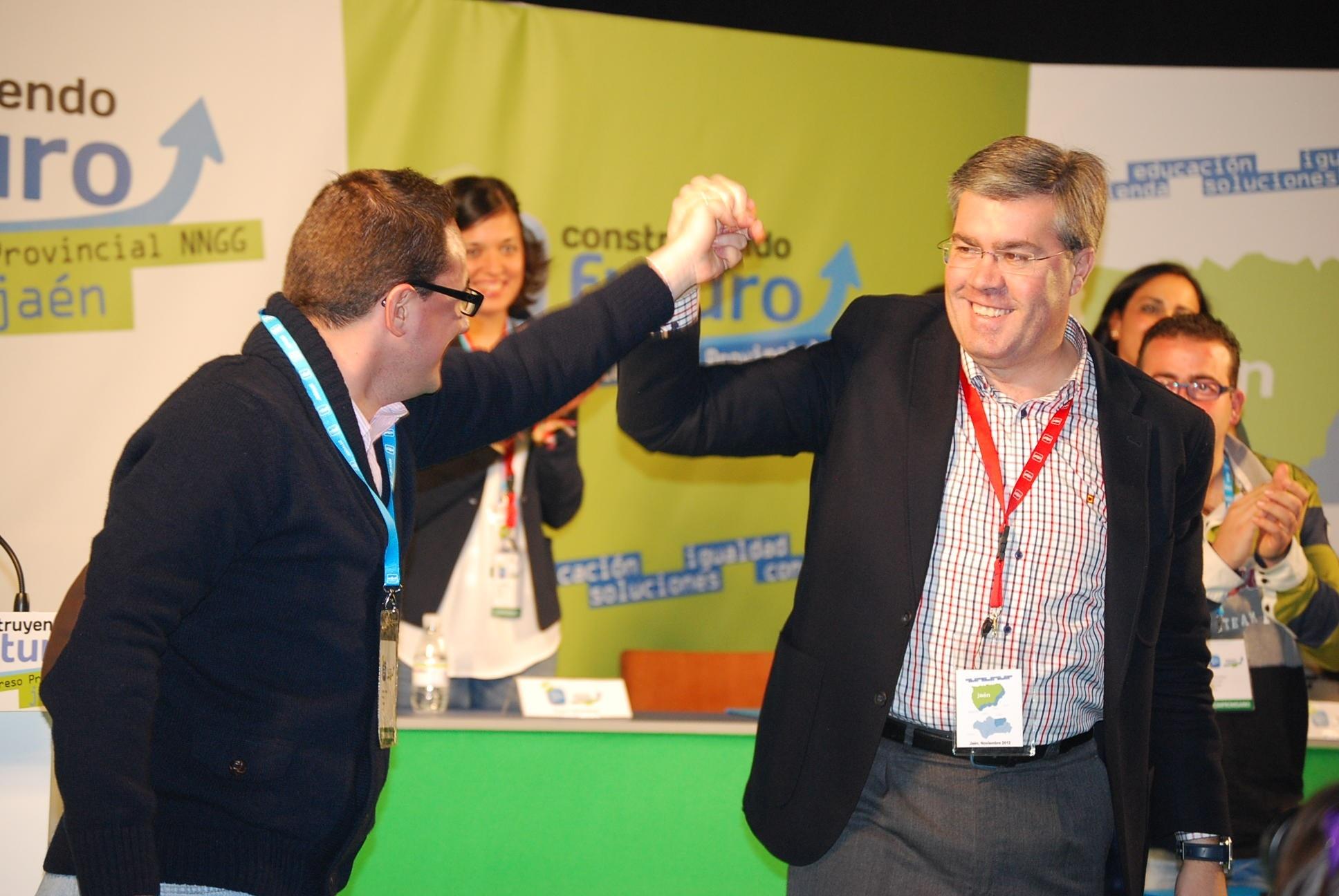 Roberto Moreno, reelegido presidente provincial de NNGG en Jaén con el 96,5% de los votos