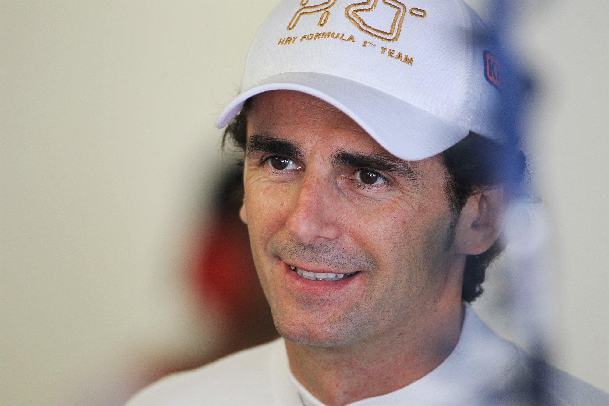 De la Rosa (HRT): «El choque con Grosjean me ha desestabilizado el coche»