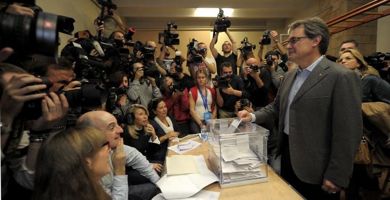 La participación en Catalunya es de casi el 70%, la más alta de la historia