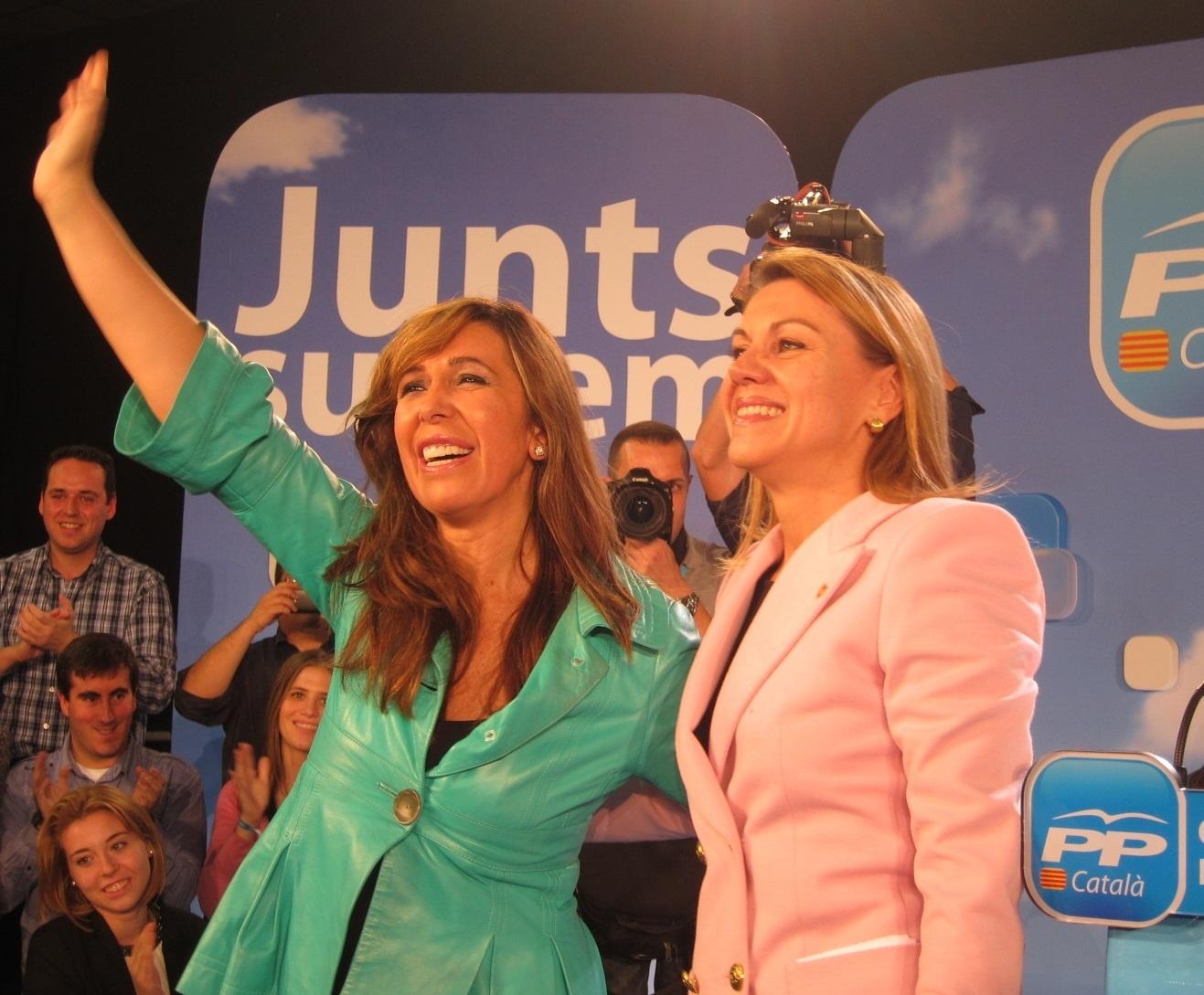 Cospedal destaca el «fracaso» de Artur Mas y del PSC en las elecciones