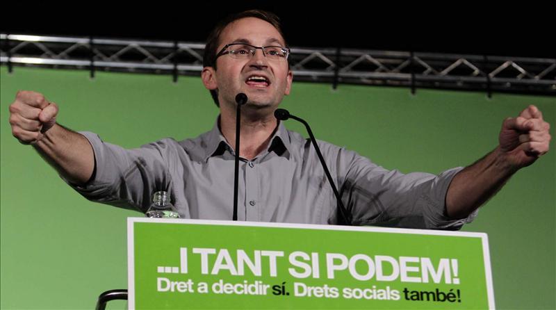 Herrera asegura que quiere construir una alternativa de izquierdas y celebra el retroceso de CiU