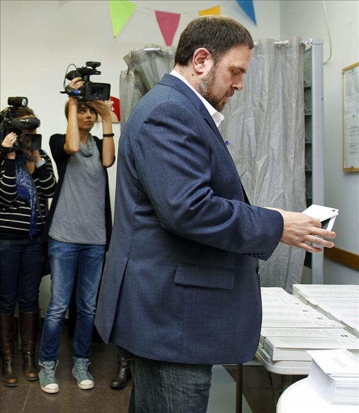 Junqueras afirma que en hoy se escribe el prólogo de la «libertad» de Catalunya