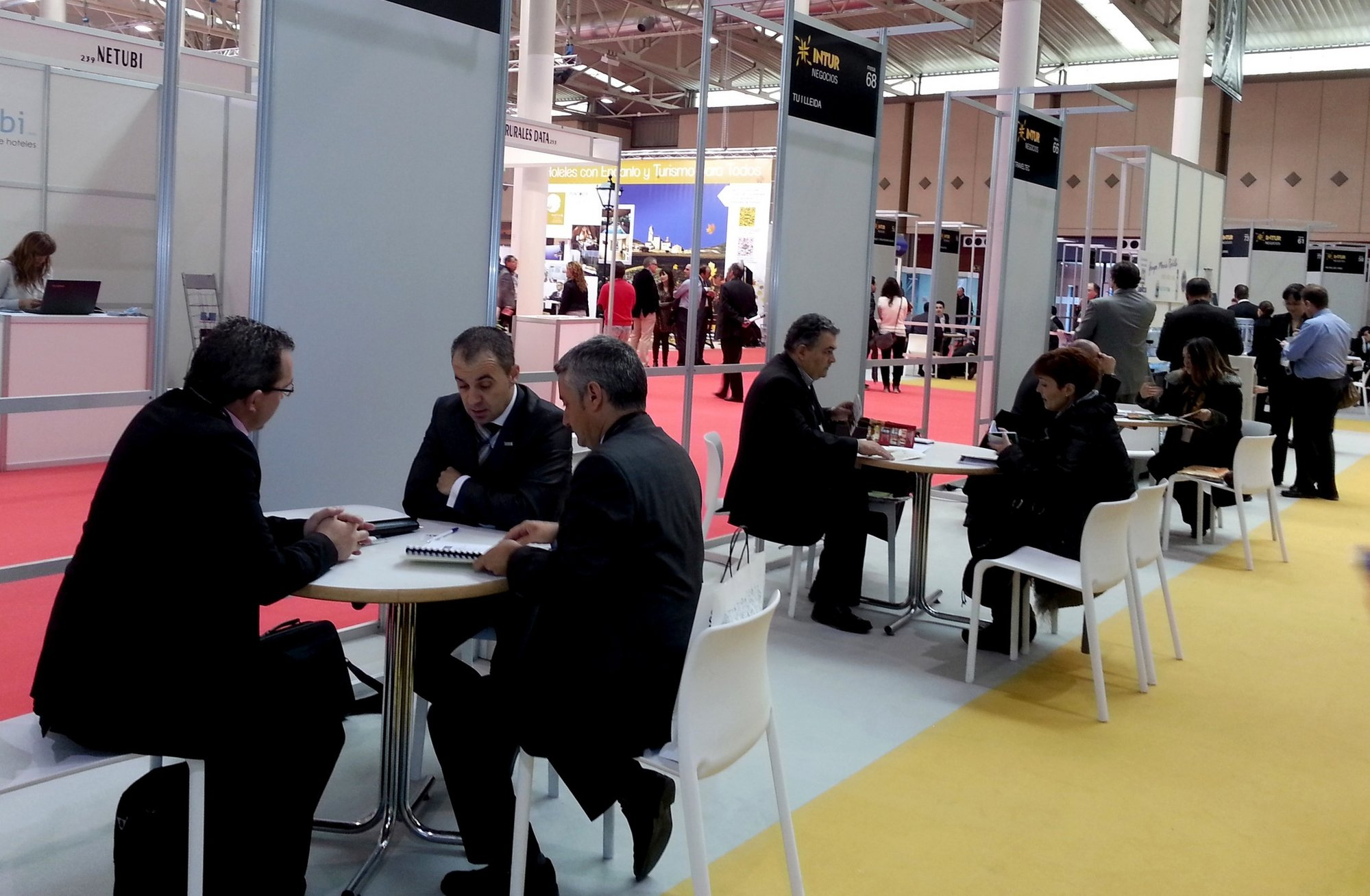 La Junta destaca que el área de negocios ha propiciado cerca de 18.000 contactos comerciales durante la Feria