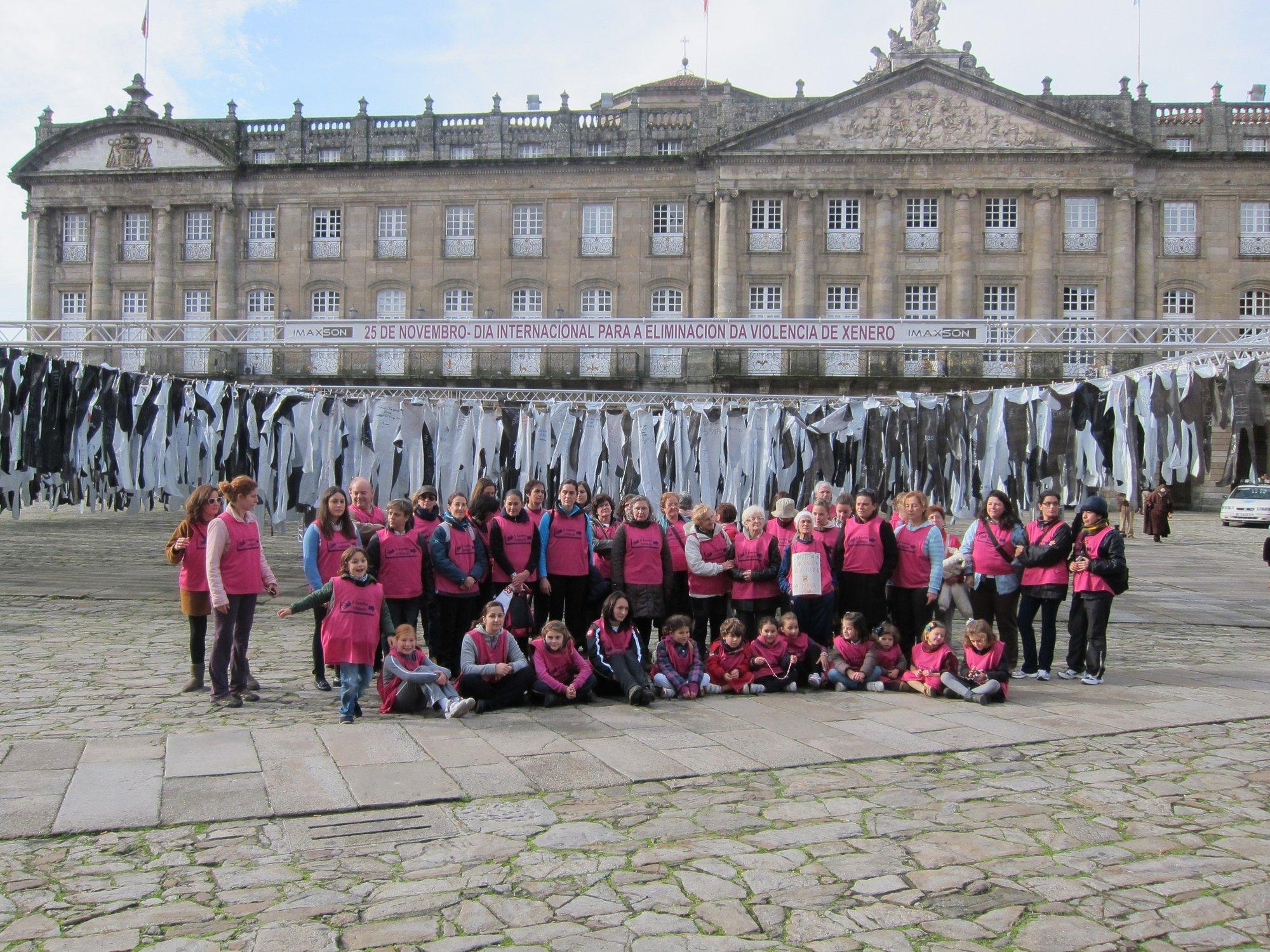 Marchas y protestas centran el Día Internacional contra la Violencia Machista en Galicia