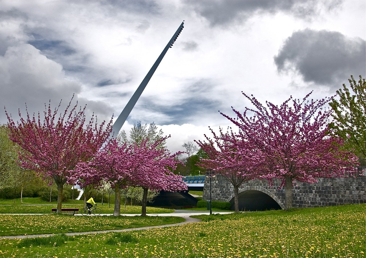 Mendillorri, el ascensor de Media Luna y el parque del Runa ilustrarán los primeros meses del calendario municipal