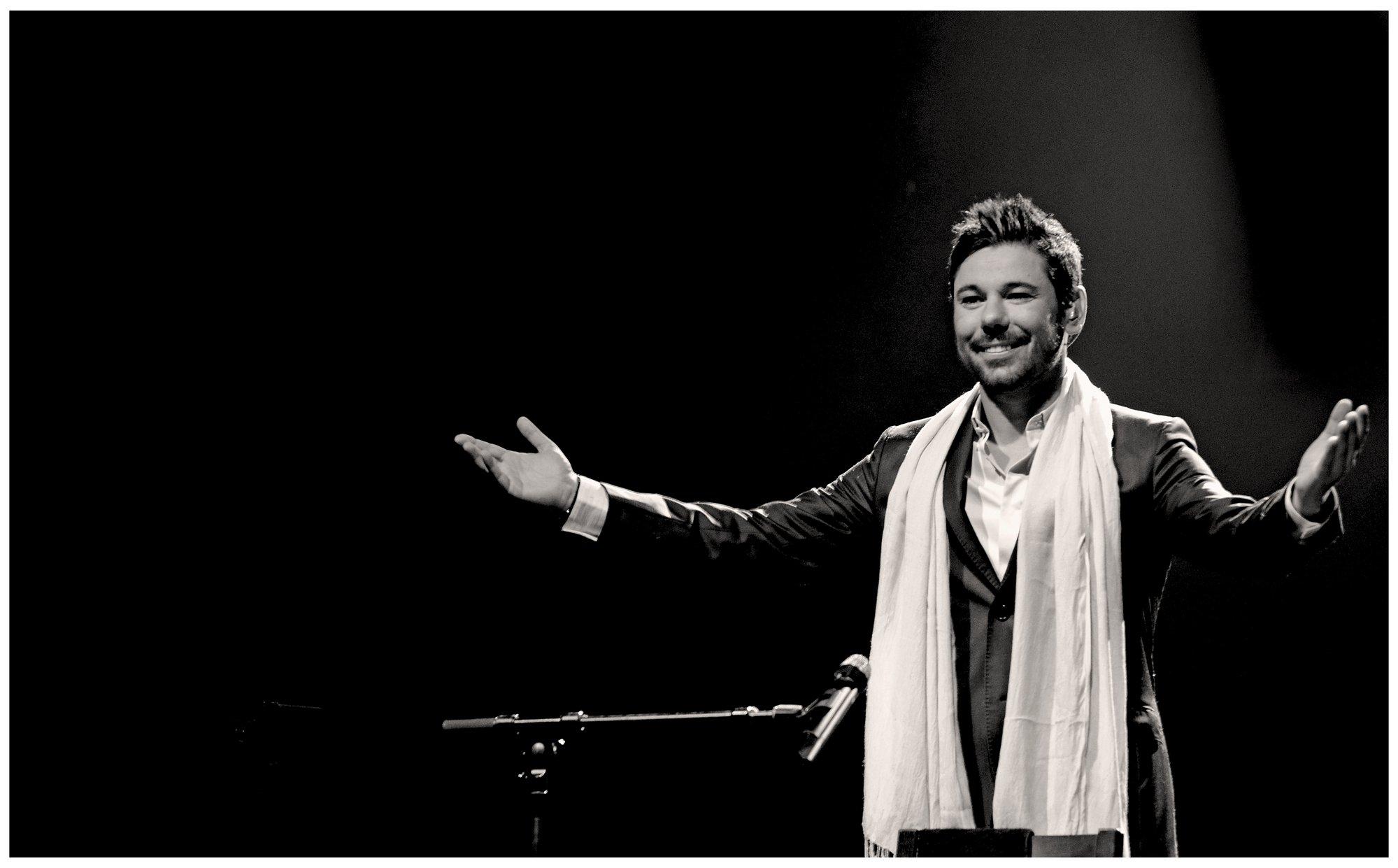 Miguel Poveda interpretará en Badajoz los palos flamencos más representativos con el espectáculo »Recital de cante»