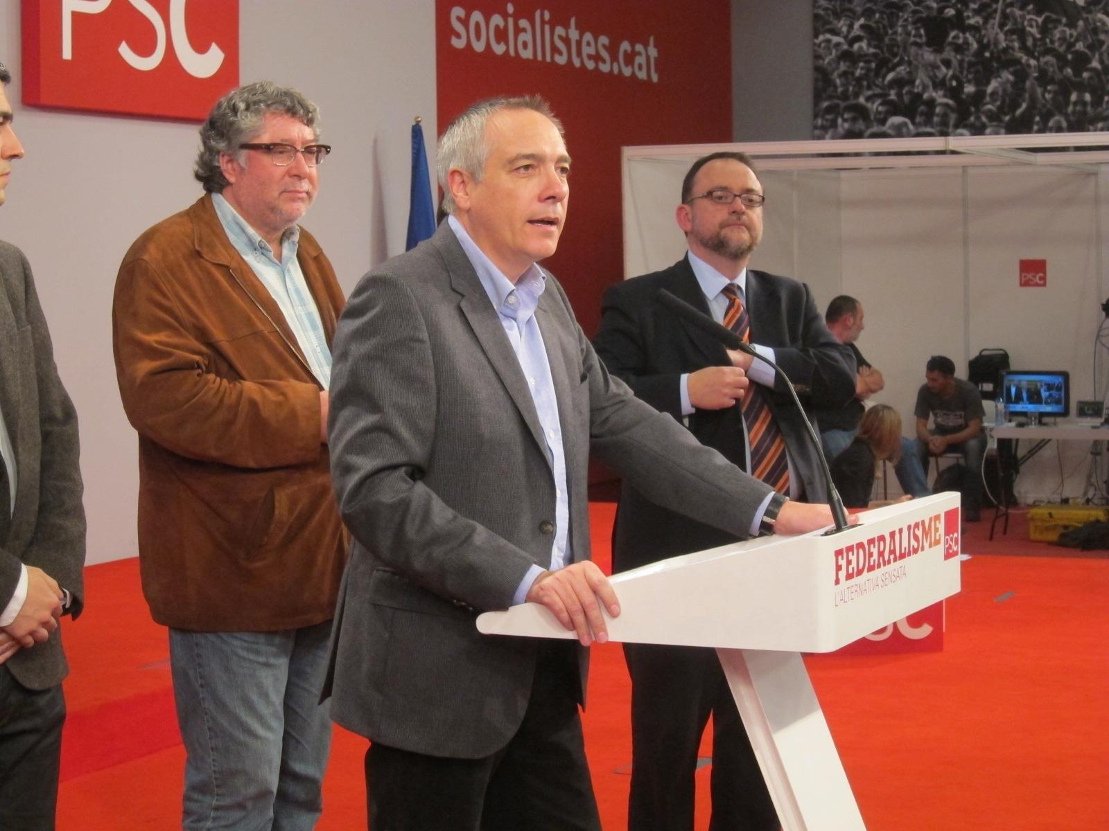 El PSC admite su retroceso pero dice que el «gran fracaso» electoral es para Mas