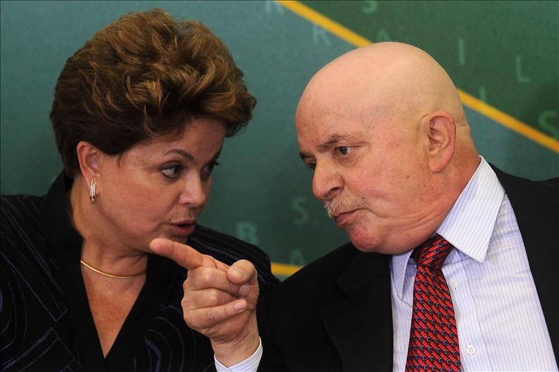 Rousseff supera a Lula en intención de voto para las presidenciales de 2014