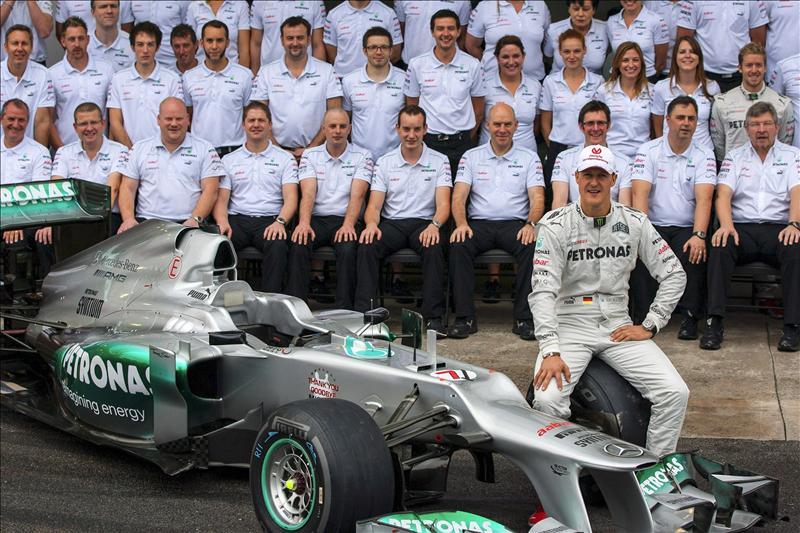Y Michael Schumacher dijo su adiós definitivo a la Fórmula 1