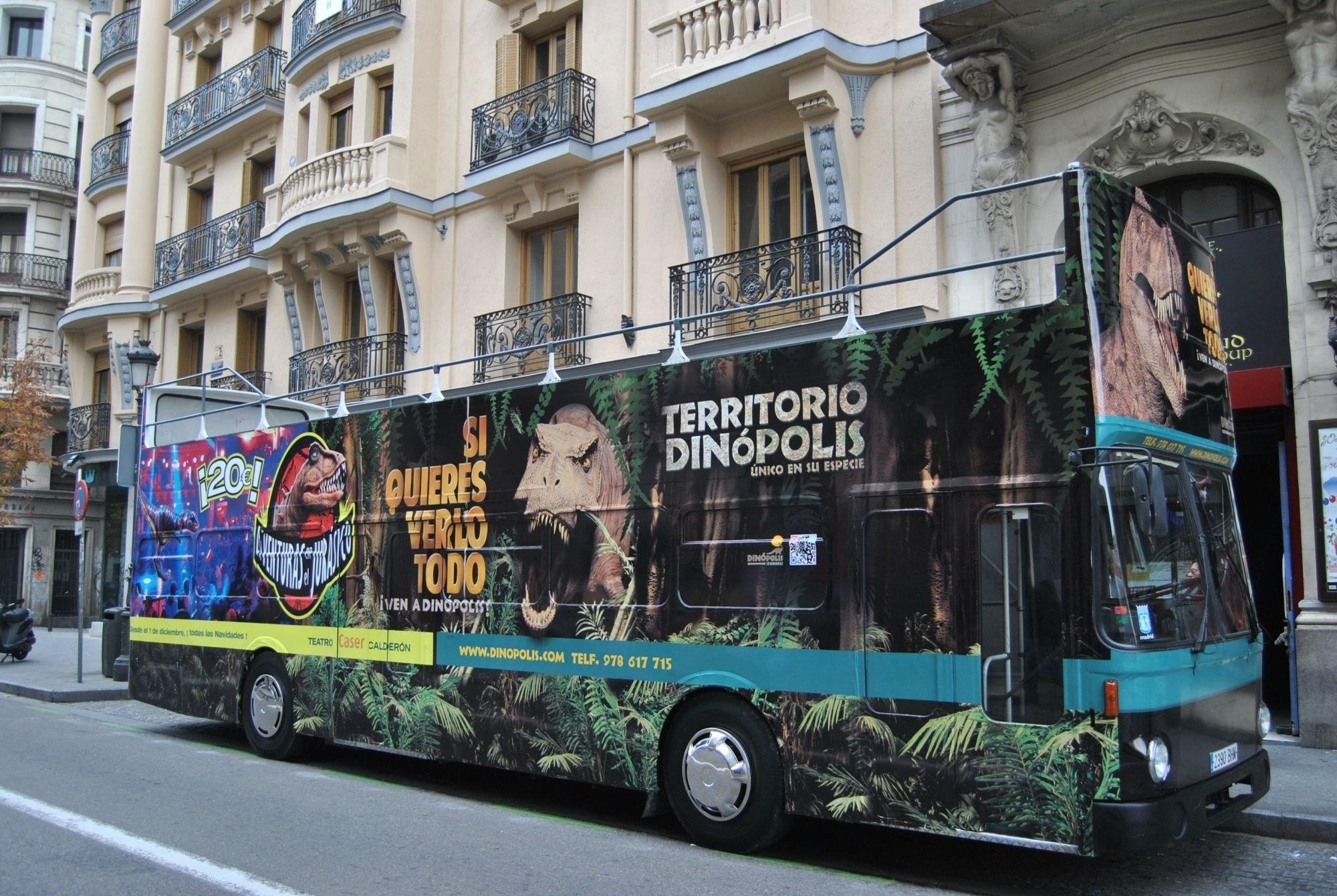 Territorio Dinópolis trae a Madrid su espectáculo »Aventuras en el Jurásico»