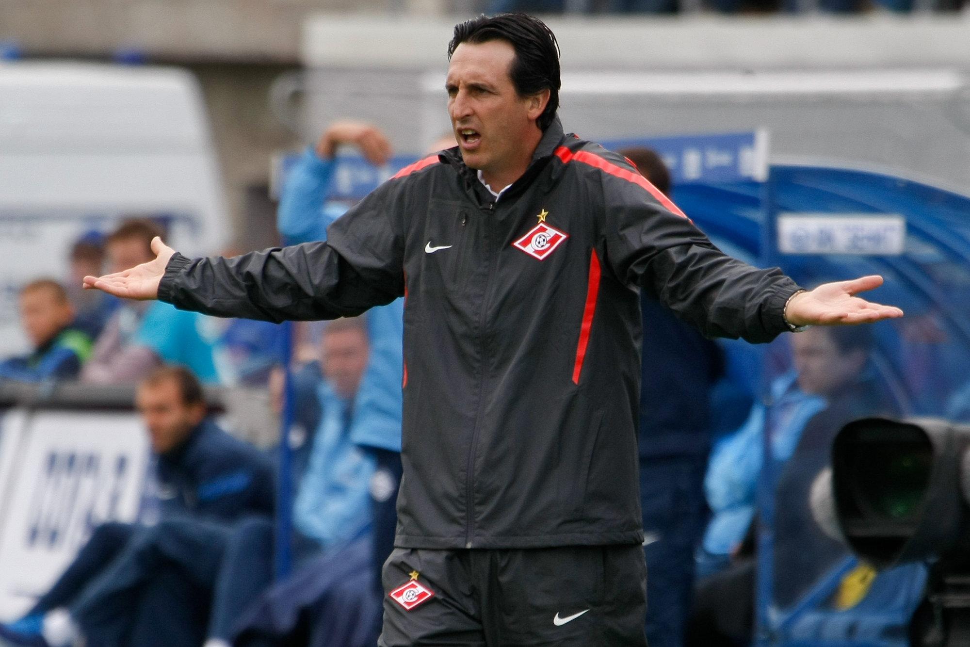 Unai Emery es destituido como entrenador del Spartak