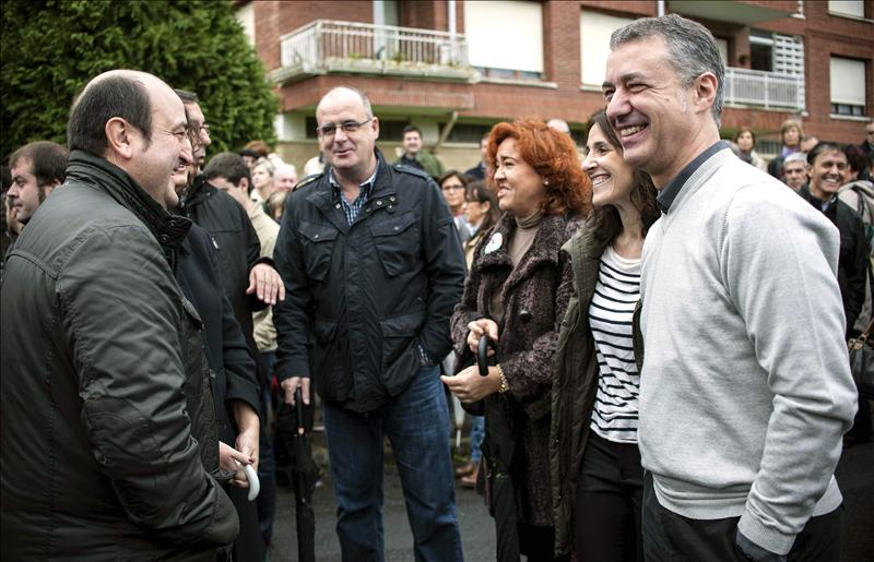 Urkullu dice que Euskadi tiene la base para crecer y ser una nación en Europa