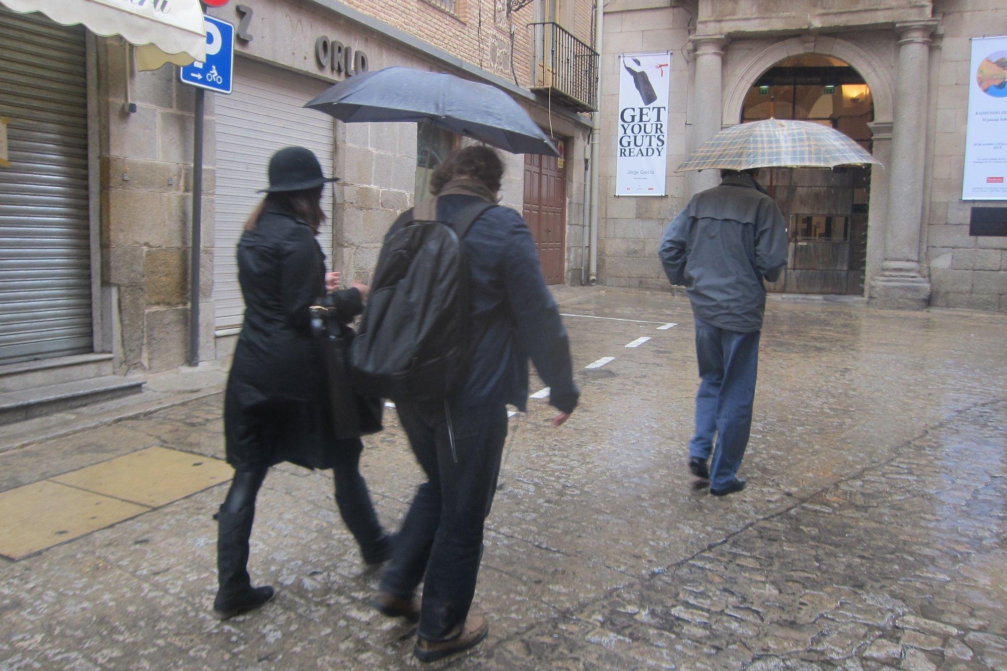 La provincia de Cáceres permanece este domingo en alerta amarilla por lluvias