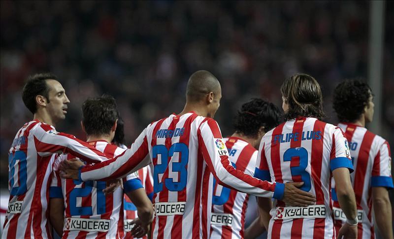 El Atlético, lanzado hacia el derbi