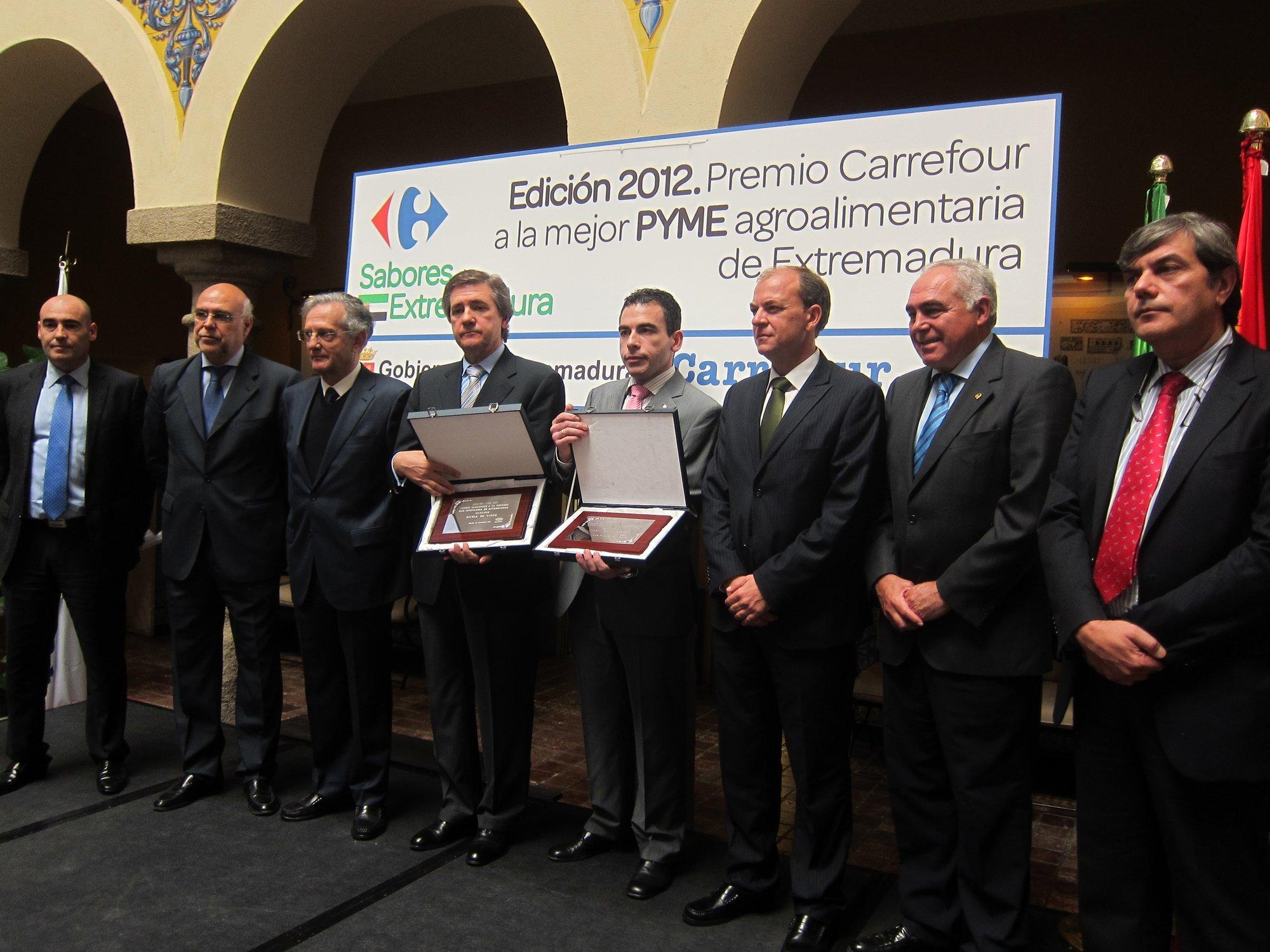 »Bodegas Habla» y »La Flor Piornalega», galardonadas con los Premios Carrefour de Extremadura