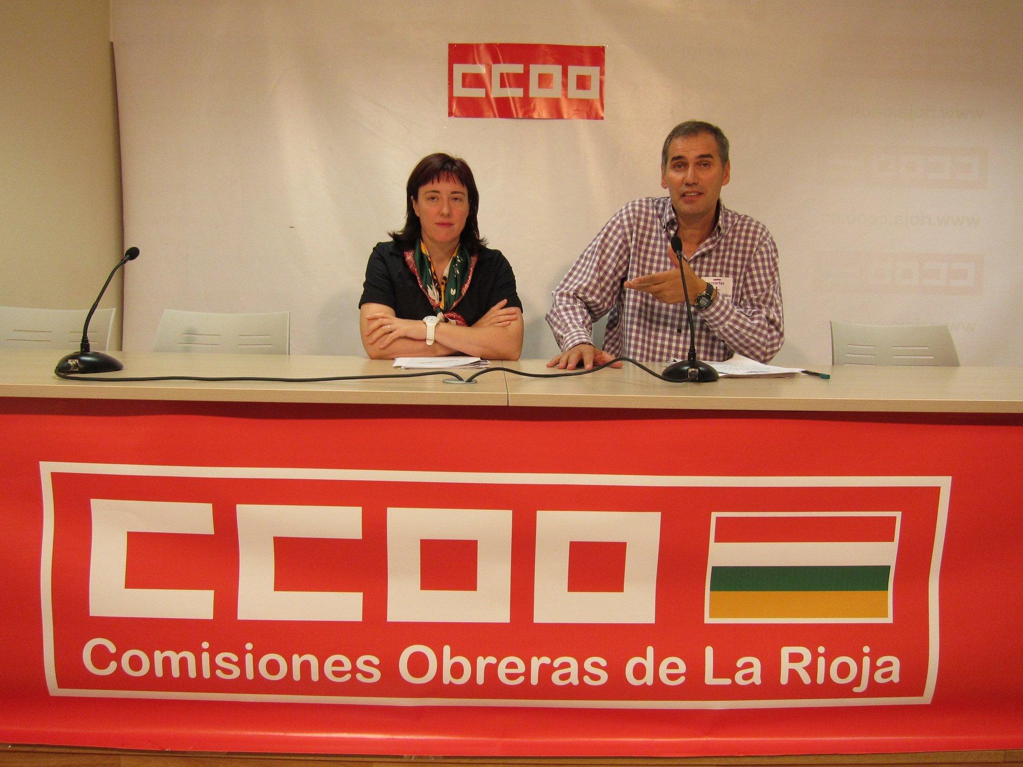 Bujanda (CC.OO) ve un «ERE encubierto» en la decisión de Educación de no pagar los meses de verano
