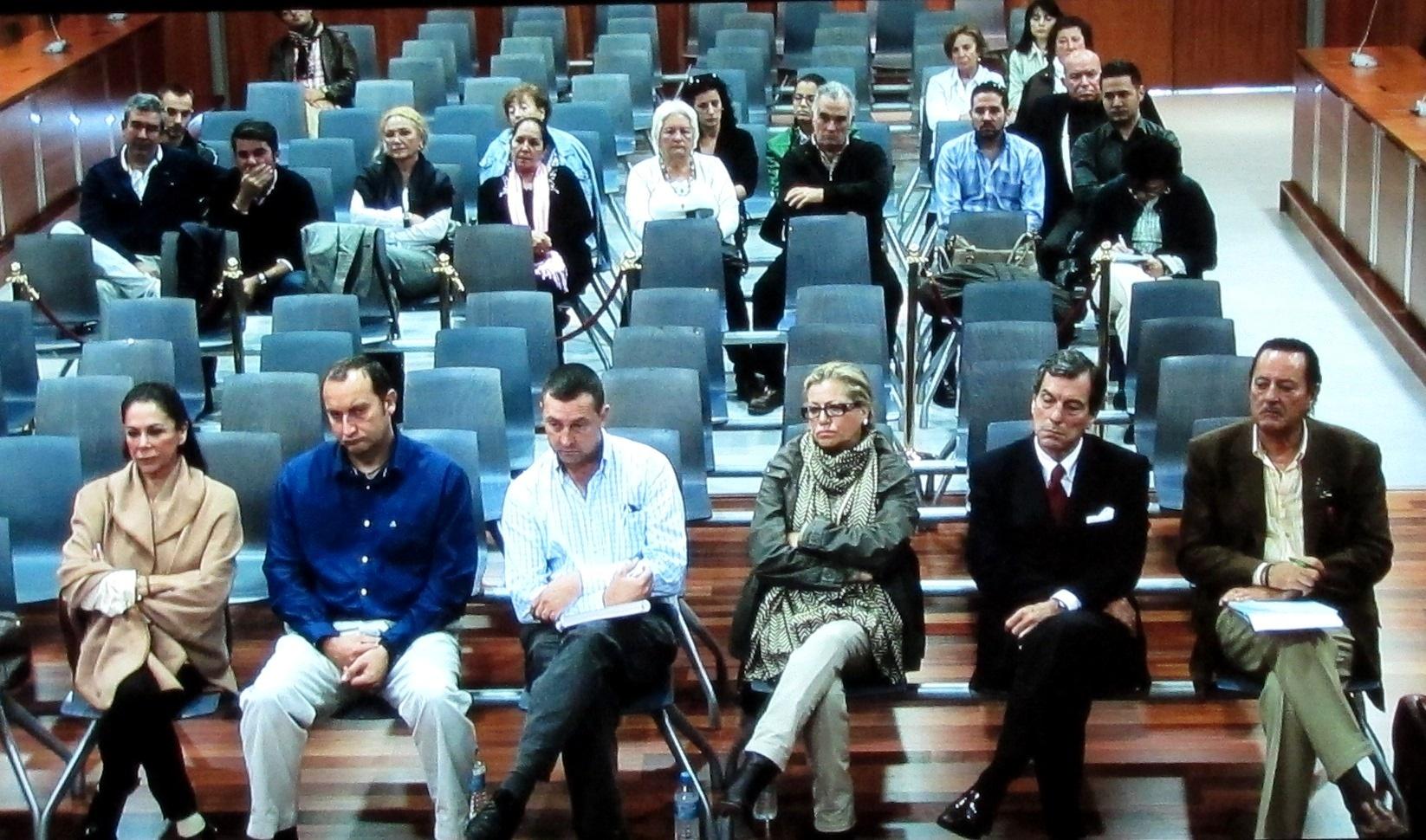 Continúa la declaración de peritos de Hacienda en el juicio a Muñoz, Pantoja y Zaldívar