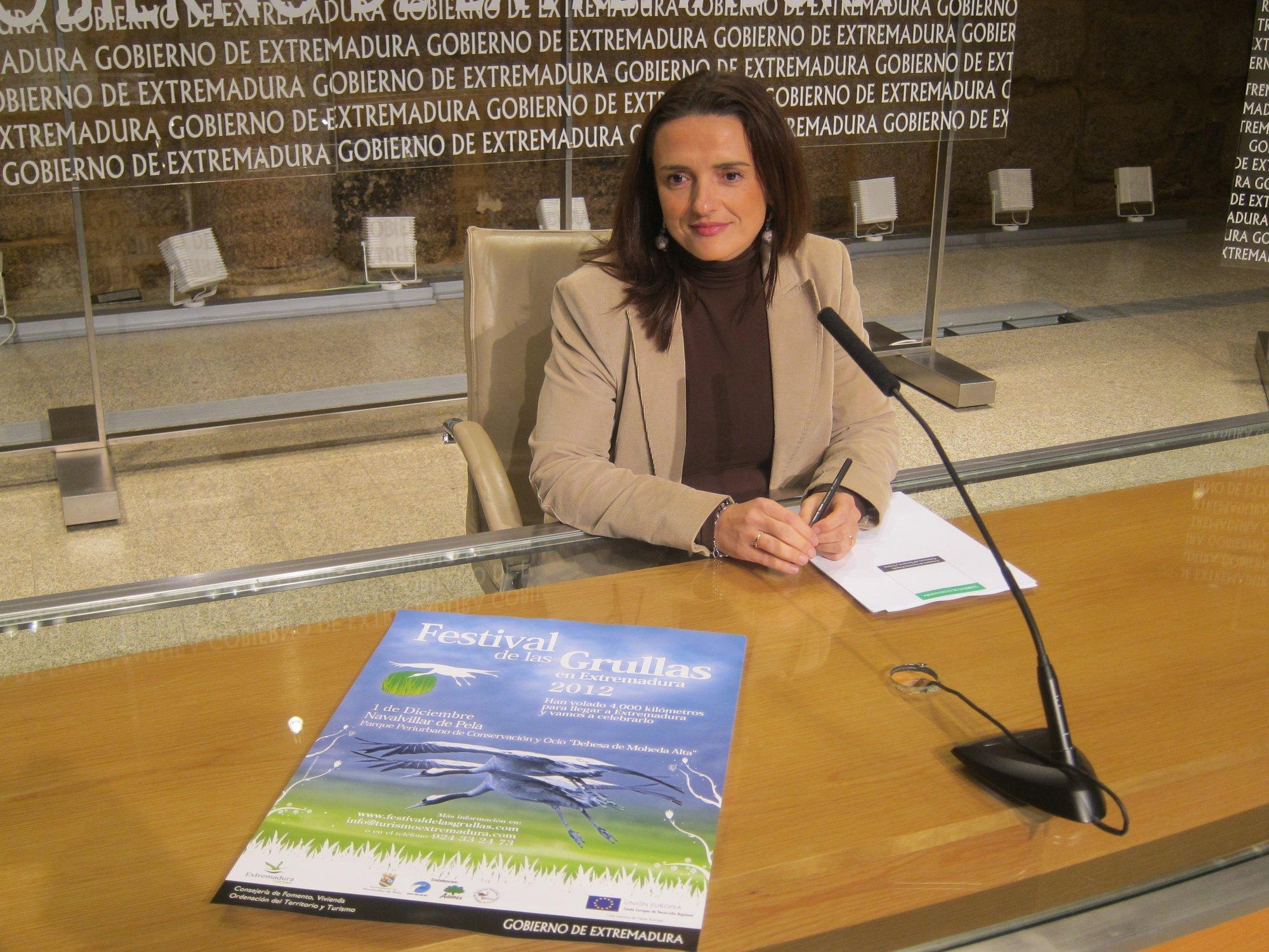 El Festival de las Grullas de Extremadura da la bienvenida a unos 80.000 ejemplares a la región