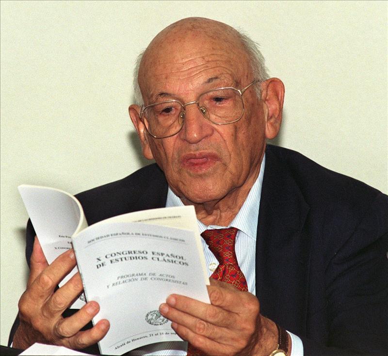 Francisco Rodríguez Adrados, Premio Nacional de las Letras Españolas 2012