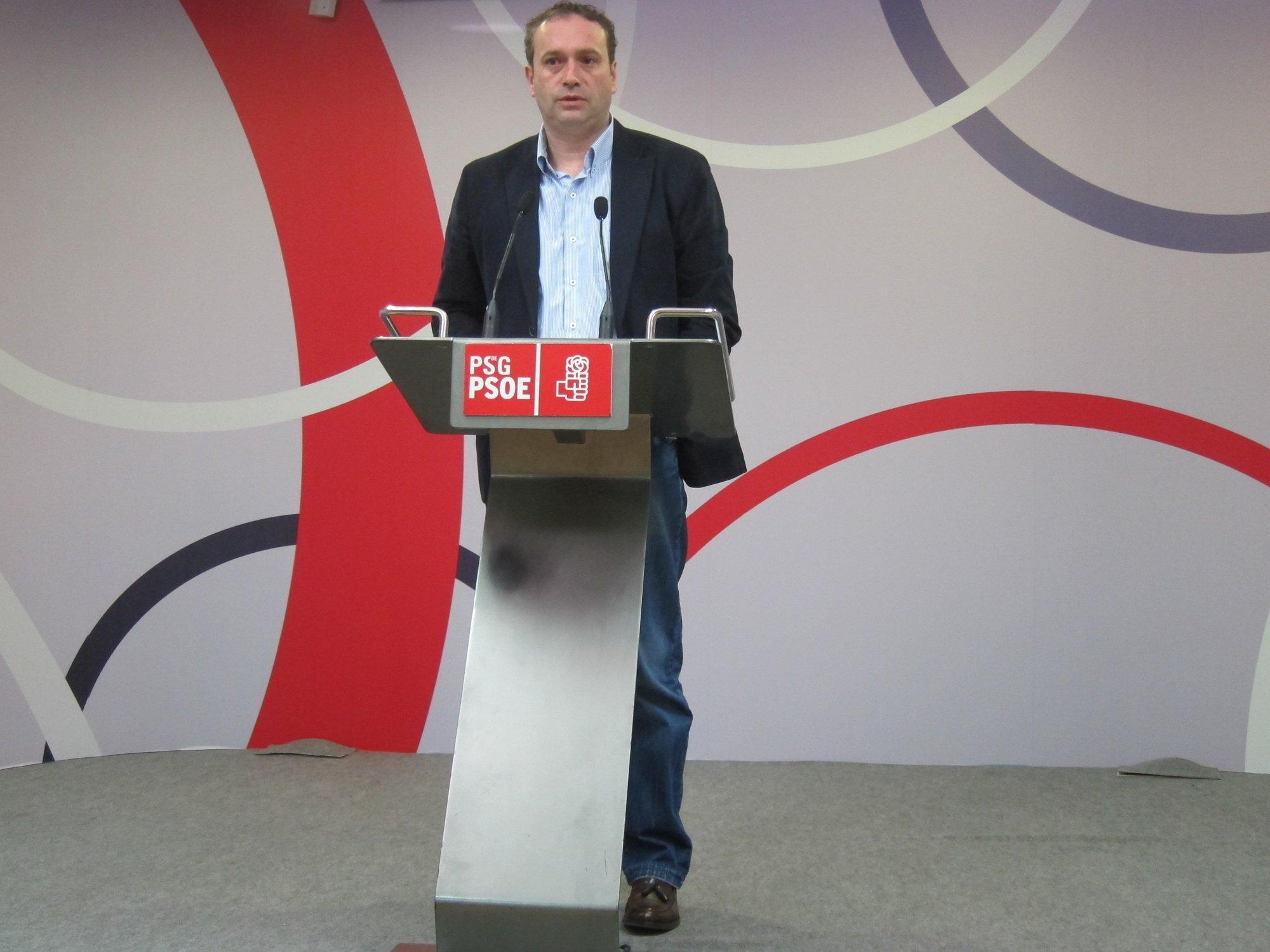 García (PSdeG) cree que el PSOE debe hacer «una reflexión a todos los niveles» con «tranquilidad y perspectiva»