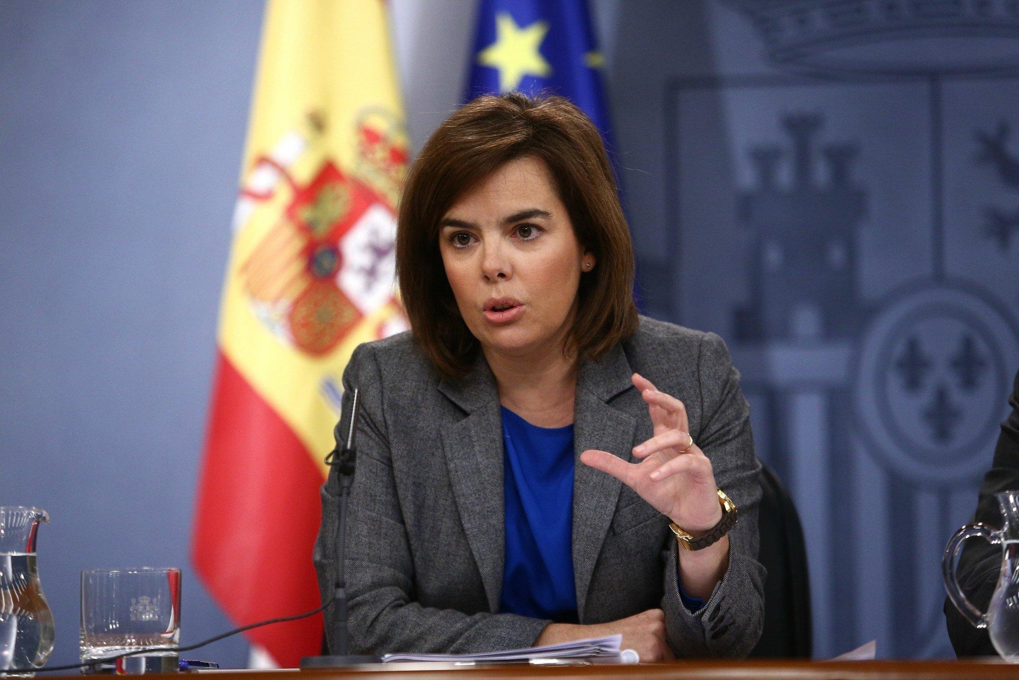 El Gobierno destaca el varapalo sufrido por Mas y le pide que reflexione sobre las prioridades