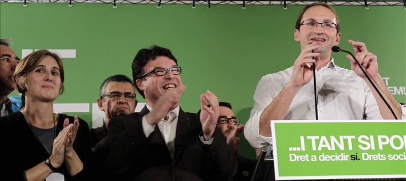 Herrera aboga por una alternativa de izquierdas y celebra el retroceso de CiU