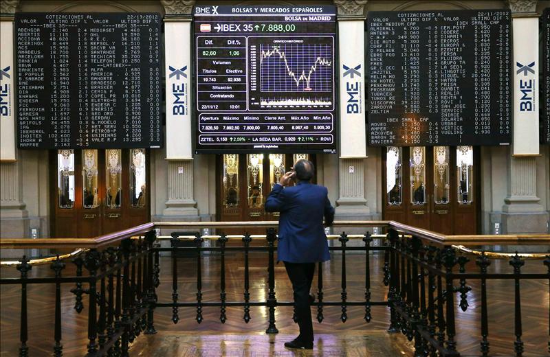El IBEX cae el 0,38 por ciento en la apertura en línea con el resto de bolsas europeas