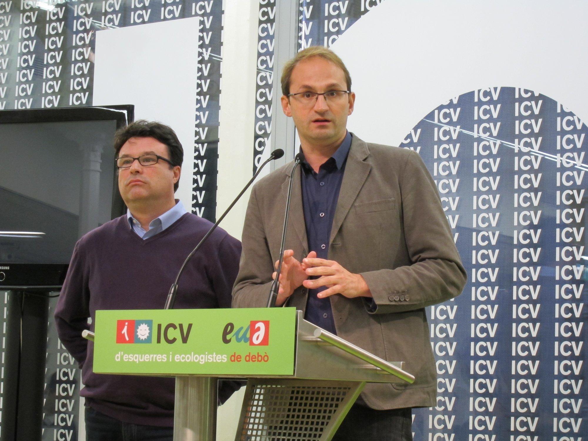 ICV-EUiA pide «humildad» a CiU y antepone una cumbre social al derecho a decidir