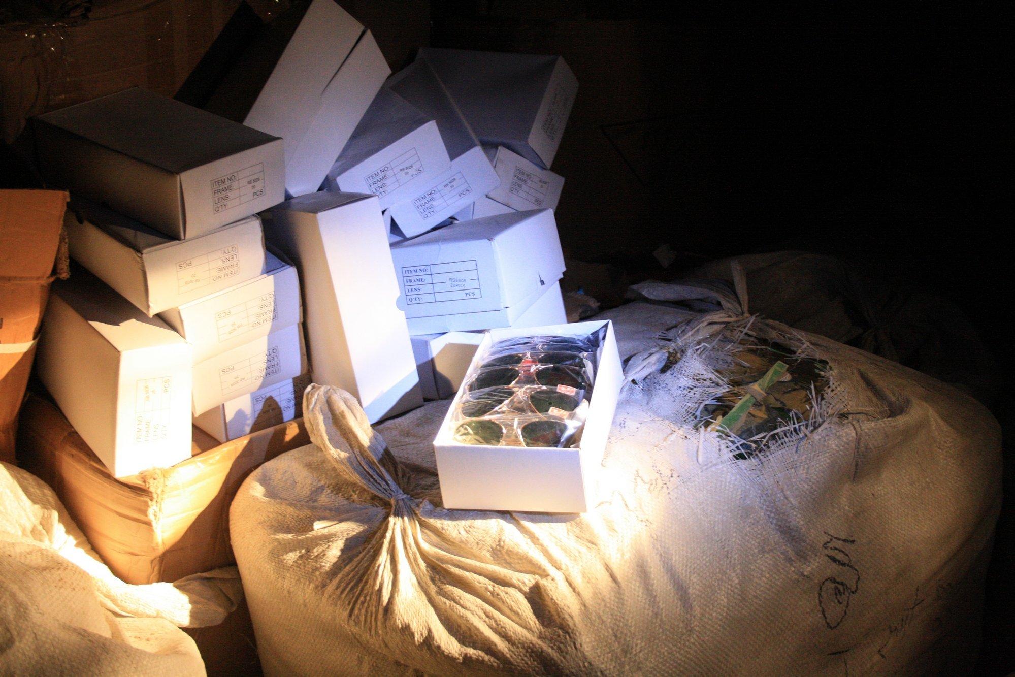 Localizan en una naves de Albacete 200.000 artículos falsificados que ya habían sido intervenidos en Alcalá