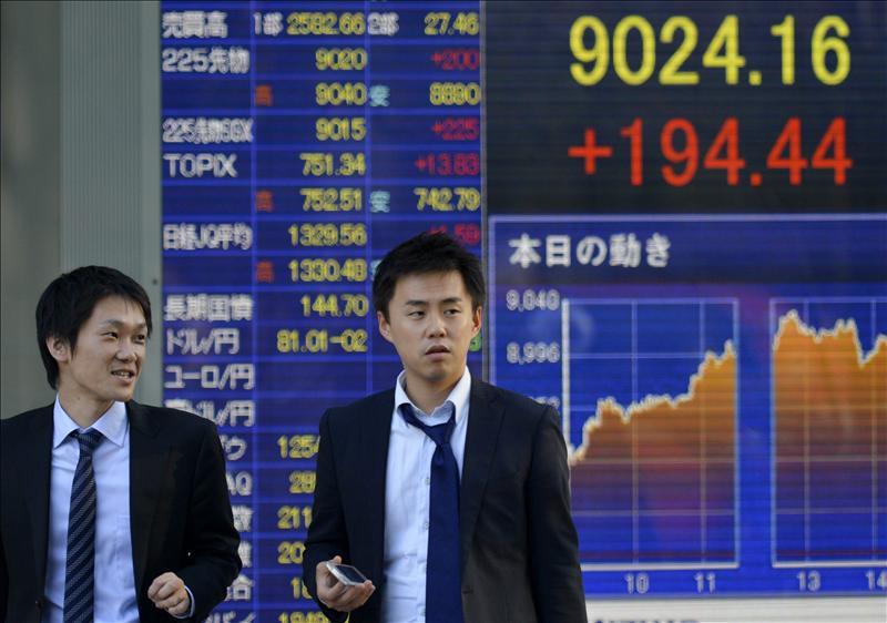 El Nikkei sube 100,78 puntos, el 1,08 por ciento, hasta las 9.467,58 unidades