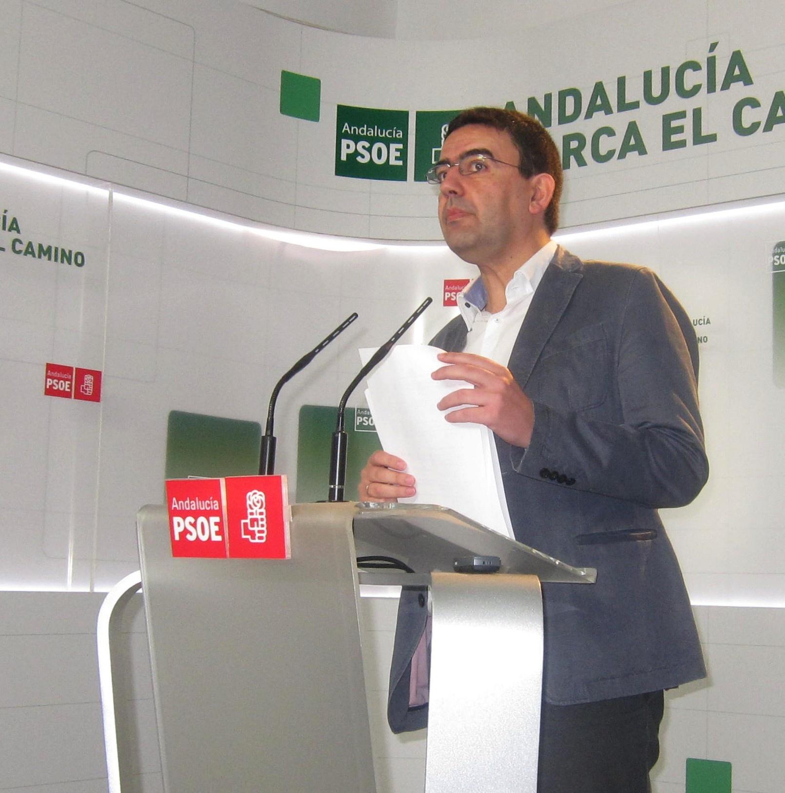 PSOE-A afirma, sobre el dictamen ERE, que si IU-CA «decide no defender lo que venido defendiendo es su responsabilidad»