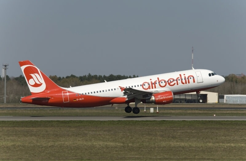 Air Berlin recortará 900 puestos de trabajo