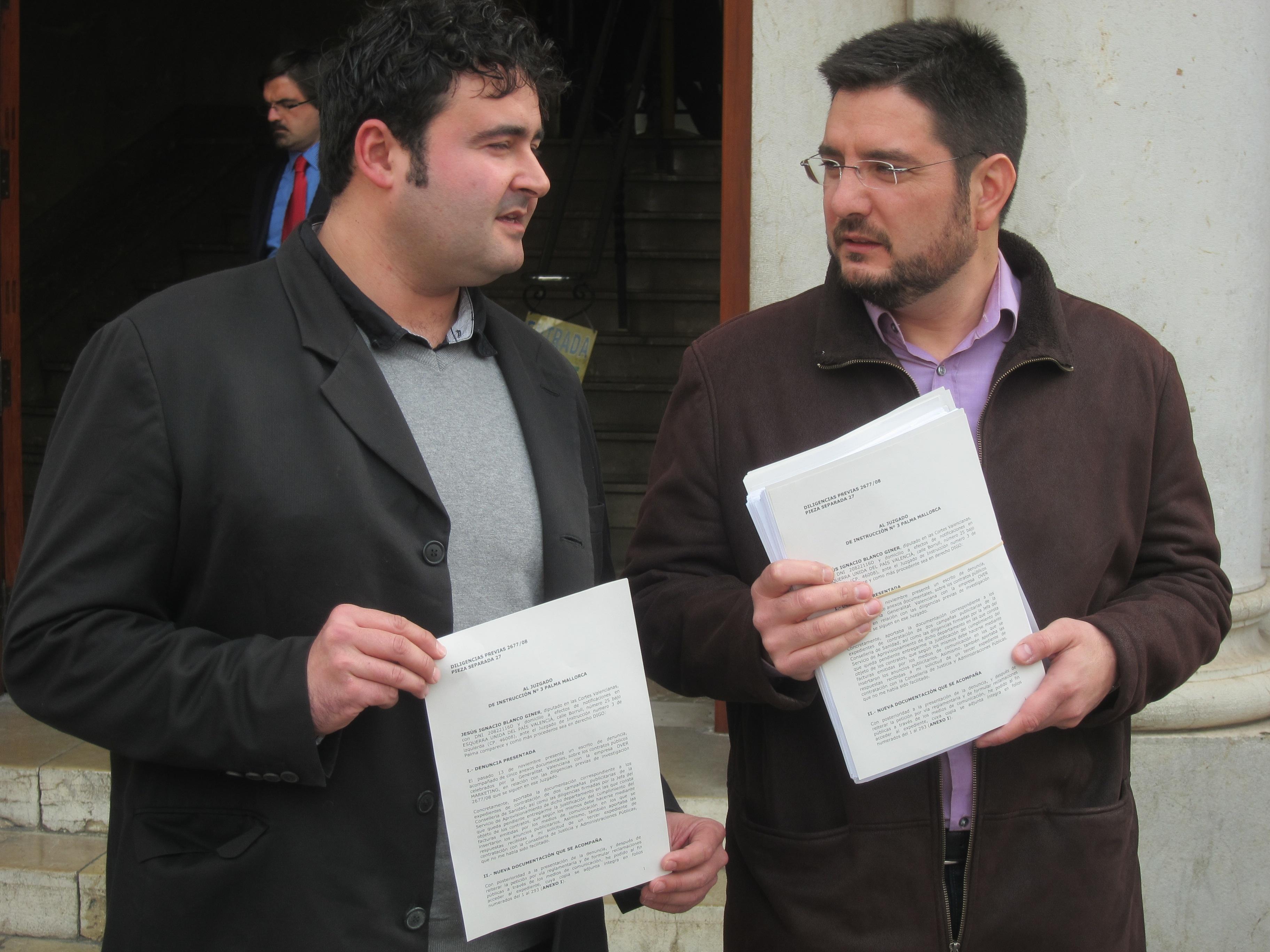 EUPV pone en conocimiento del juez otros dos contratos de Over con la Generalitat por más de 3 millones