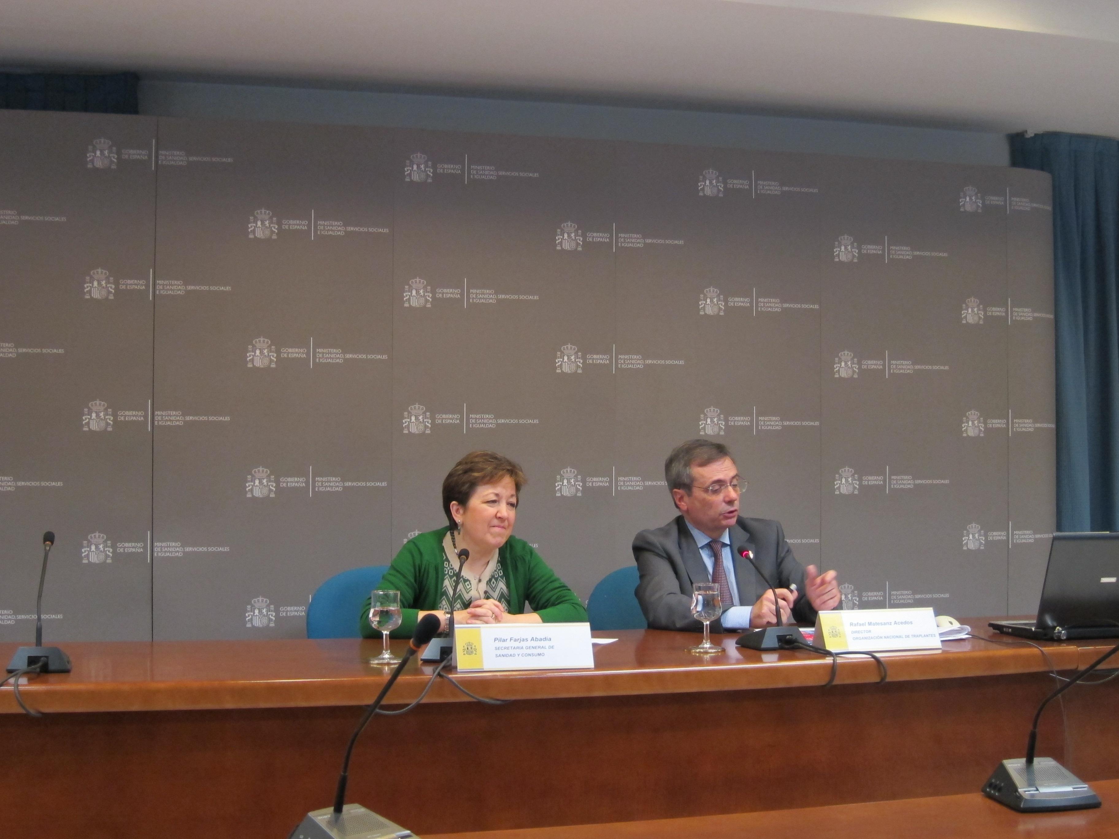 Extremadura registra en 2012 una tasa de 28 donantes por millón de población