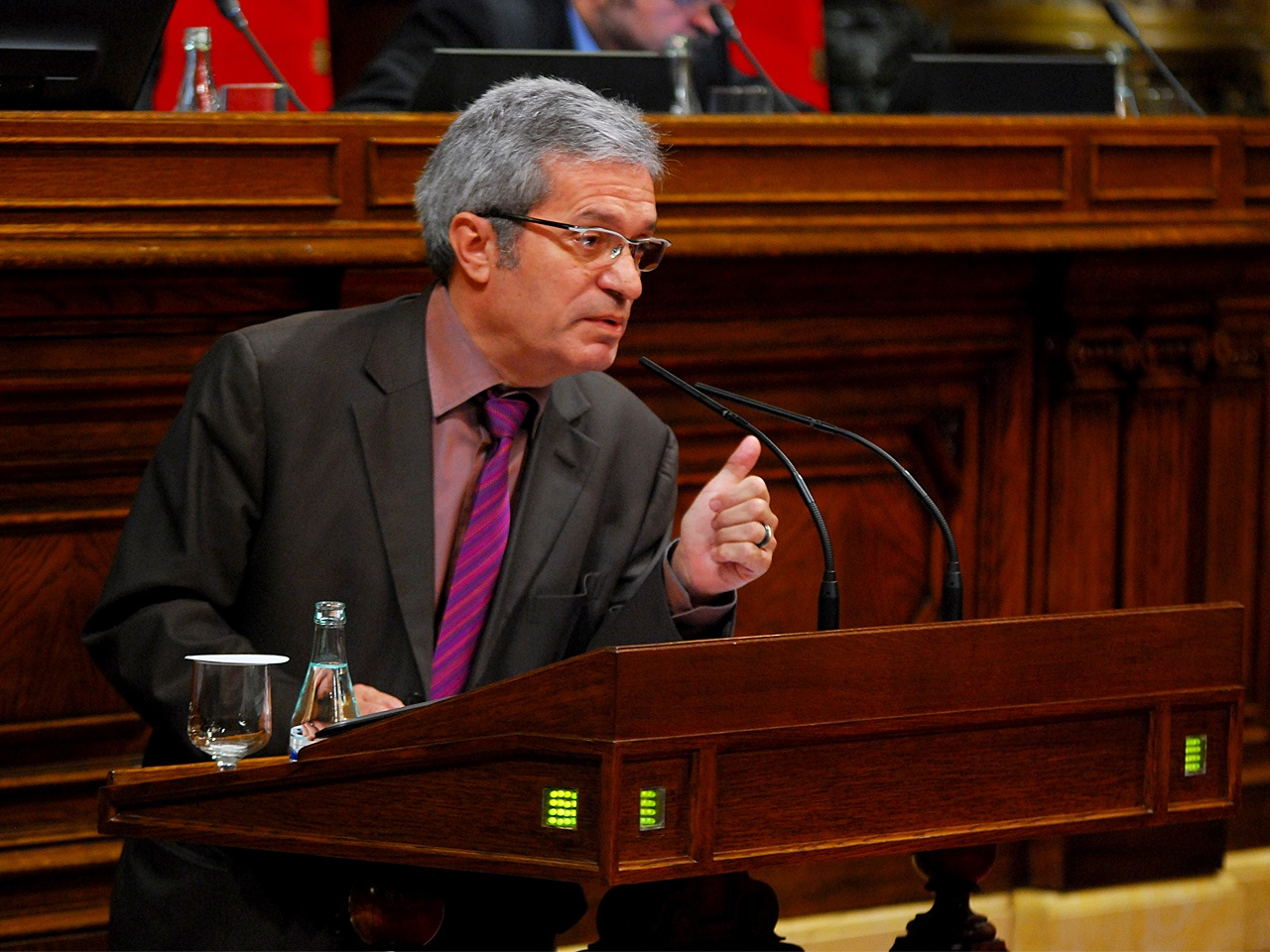 ICV-EUiA reafirma a Saura como senador de designación autonómica