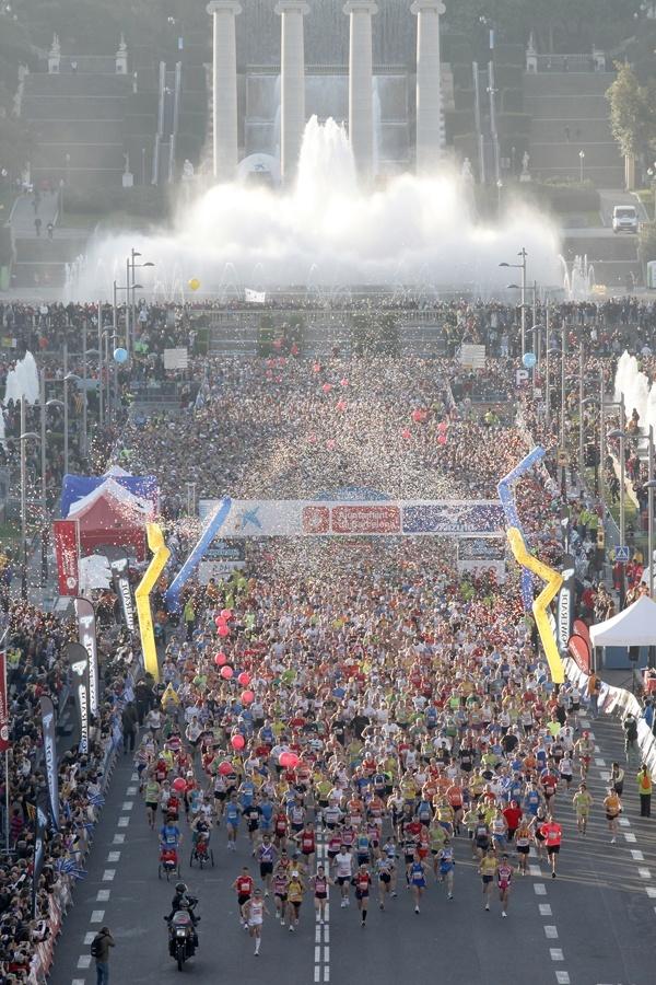 El Maratón de Barcelona espera la «alcanzable» cifra de 21.000 inscritos en 2013