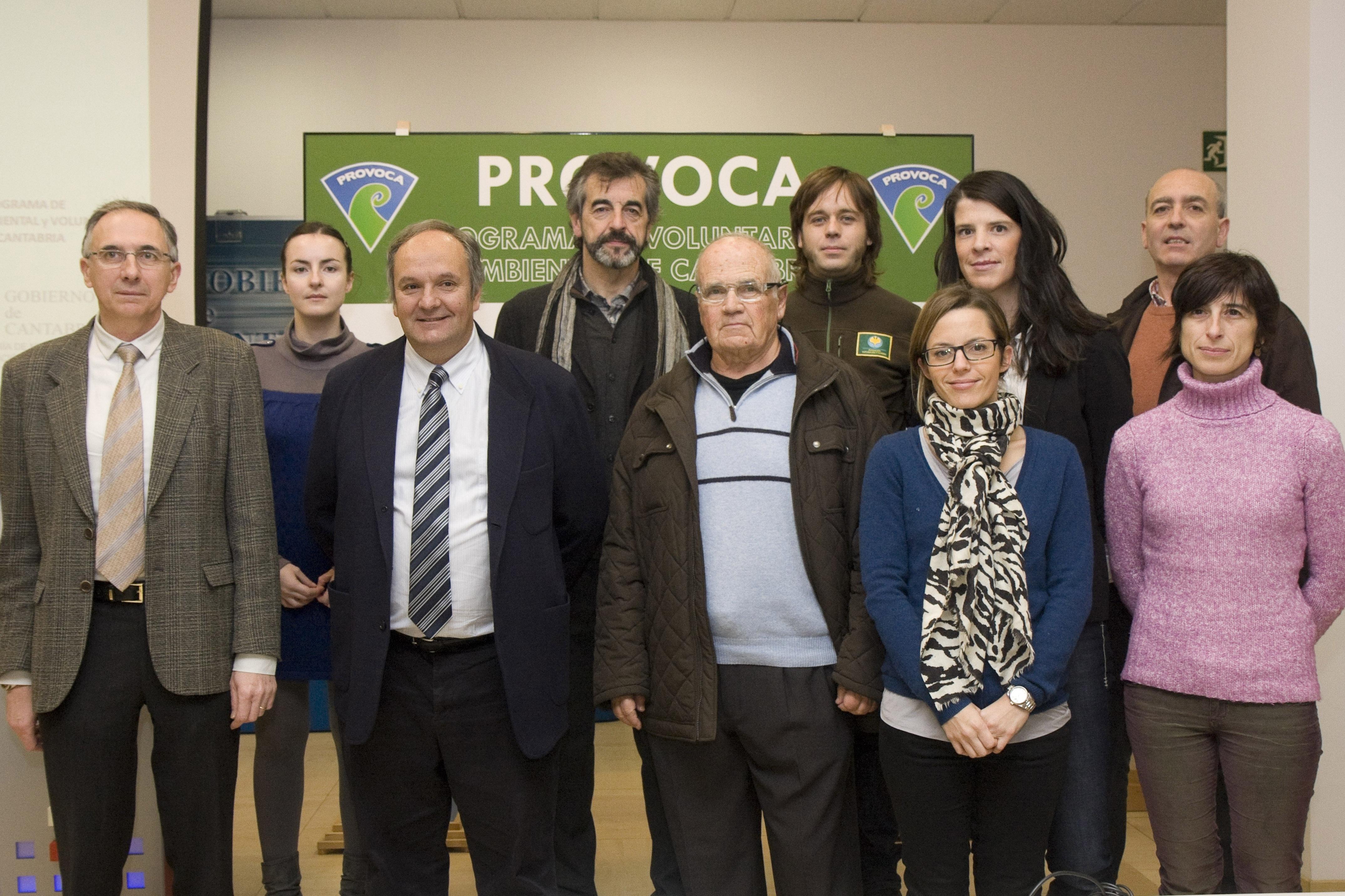 Once asociaciones colaborarán este año en el programa de voluntariado ambiental PROVOCA, con Ruth Beitia como madrina